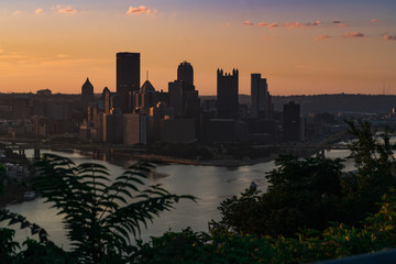 Pittsburgh Dawn - West End Overlook