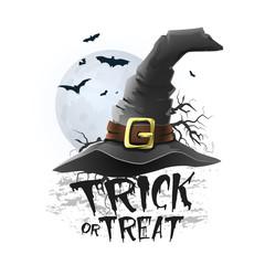 Halloween trick or treat illustration