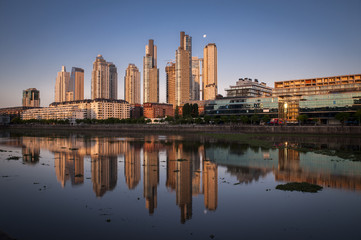 Puerto Madero district, Buenos Aires, Argentina.