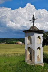 old small chapel in czech paradise