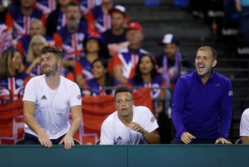 Davis Cup - World Group Play Off - Great Britain v Uzbekistan