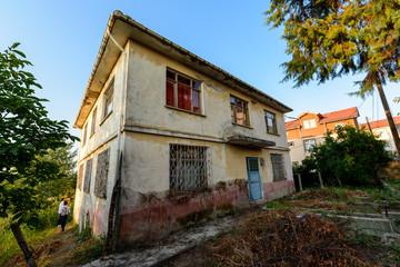 Alte Häuser in der Türkei