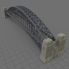 Tied arch bridge