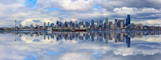 Seattle Skyline Panorama