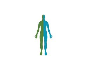 Human anatomy logo icons