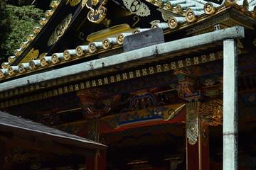 久能山東照宮  石段 海 坂 漆 神社