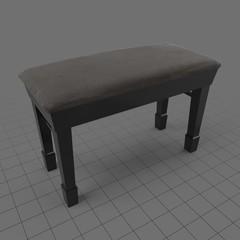 Grand piano bench