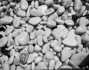 Little stones of beach