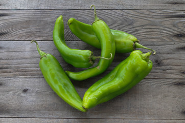 Hatch New Mexico green chiles (hot peppers) Wall mural