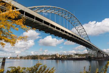 Fremont Bridge, Portland Oregon, in September