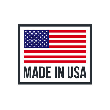 Made in USA premium quality American flag icon