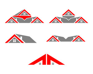 roof house logo collection