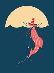 Trade war whale