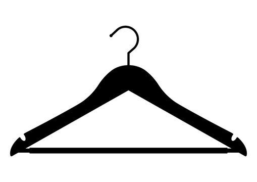 gz182 GrafikZeichnung - german - Kleiderbügel aus massivem Holz (Hänger) - english - solid wood clothes hangers (cloth hanger) - xxl A3 A4 g6584
