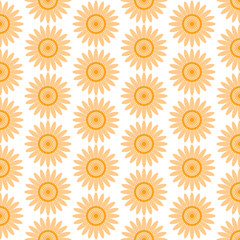 Seamless floral  pattern. Flowers on white background. Floral print textile wallpaper background
