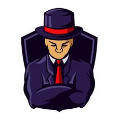gaming mascot logo character