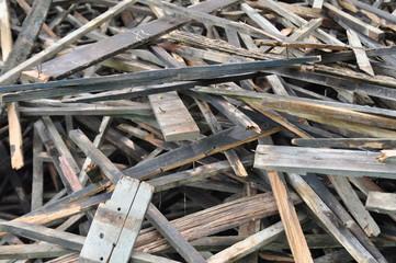 Old scrap wood
