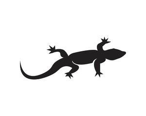 Lizard logo design vector illustration