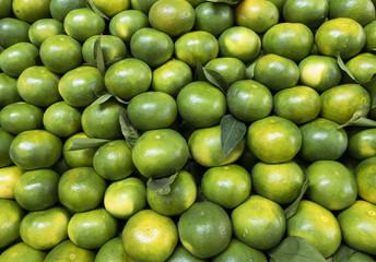 doğal mandalinler ve manav reyonundaki yeri