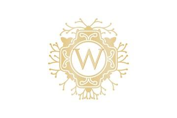 Letter W luxury logo design inspiration