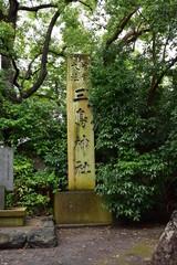 三嶋大社 神社 木蓮 本堂 池 鹿