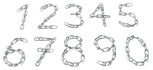 Paperclip Chain Numbers