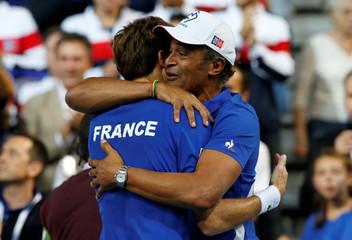 Davis Cup - World Group Semi-Final - France v Spain
