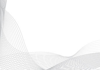 Abstract vector background for design with many lines