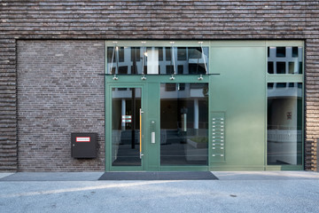 Haustür Gebäude Wohnung Eingang
