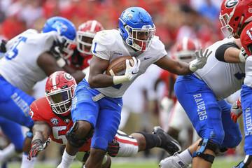 NCAA Football: Middle Tennessee at Georgia