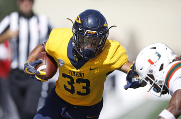 NCAA Football: Miami at Toledo