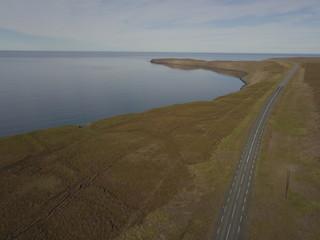 Island aus der Luft