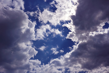 beautiful perfect clouds