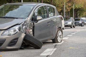 Kleinwagen_Unfall