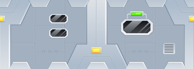 Space Ship Game Background