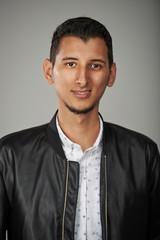 Smiling arab young man