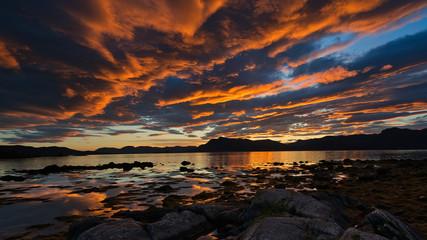 Norwegian Sea Sunrise