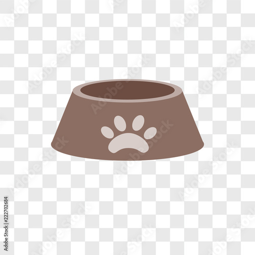 dog food icons isolated on transparent background  Modern