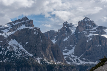 Dolomites Italy, nature and landscape
