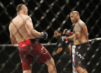 MMA: UFC Fight Night-Moscow-Hunt vs Oleinik