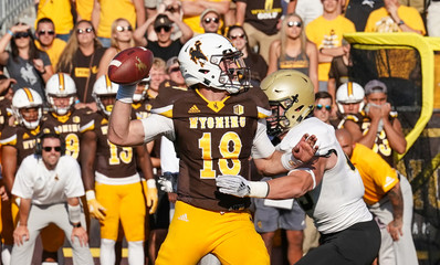 NCAA Football: Wofford at Wyoming