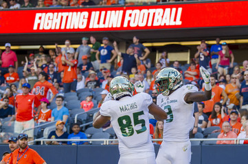 NCAA Football: South Florida at Illinois