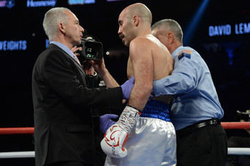 Boxing: Lemiuex vs O'Sullivan