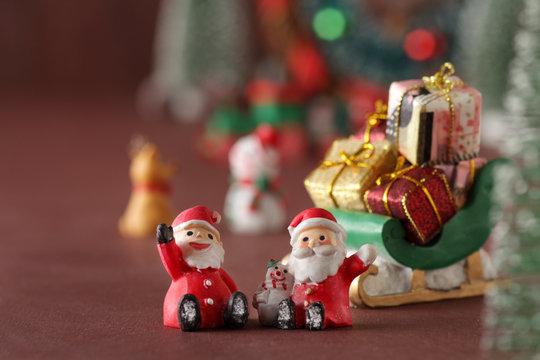 クリスマス雑貨イメージ サンタクロース