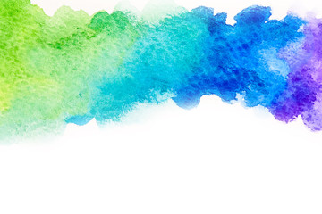 Abstract watercolor background illustration free hand drawing