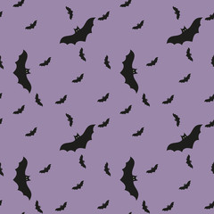 Halloween seamless pattern.Can be used for wallpaper, web page background, surface textures.
