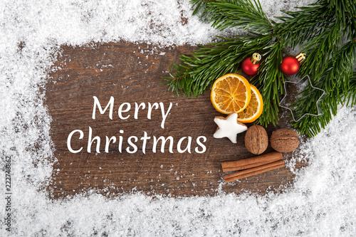 Herzliche Weihnachtswünsche.Weihnachtskarte Herzliche Weihnachtsgrüße Stock Photo And Royalty
