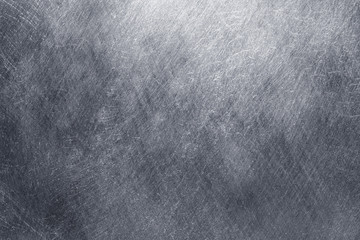 Old metal texture covered with dents and scratches. background dirty iron