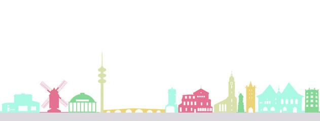 Jena, Farbenfroh