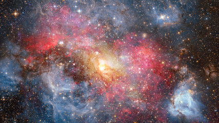 Galaxy in space, beauty of universe. Elements of this image furnished by NASA.